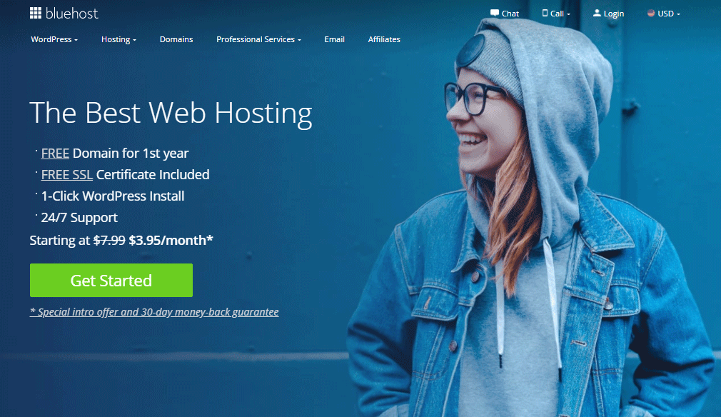 Bluehosting hosting