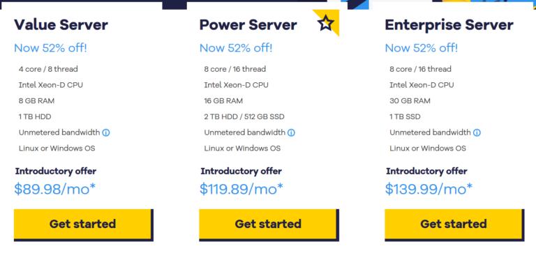 hostgator dedicated web hosting plans