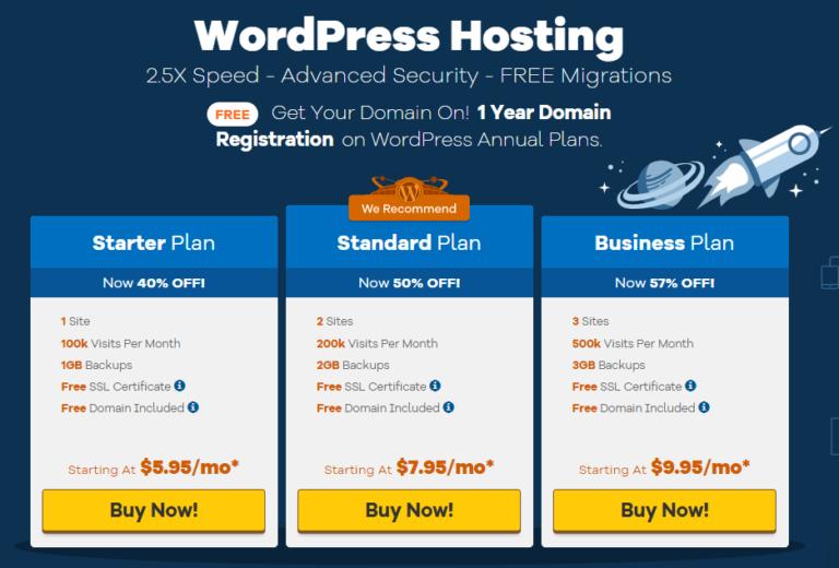 hostgator wordpress hosting plan