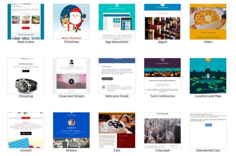 prepared custom email templates