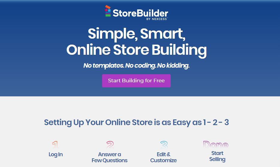 Store builder by nexcess