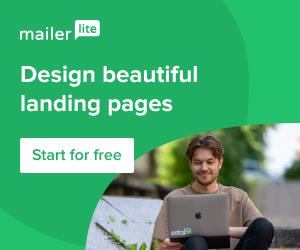 landing page mailerlite